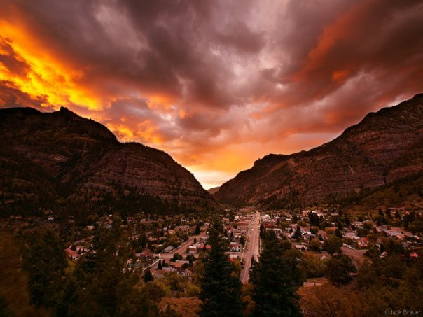 Ouray-Sunset