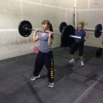 Hard to believe she's not even in high school but this one is clearly a CrossFit beast(ess) in the making!