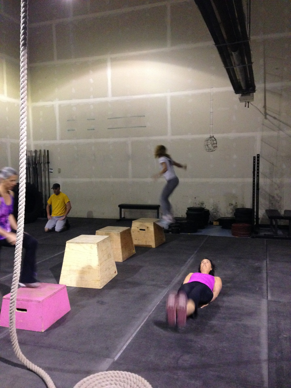 Leg Levers, Box Jumps and praying ... oh, my!
