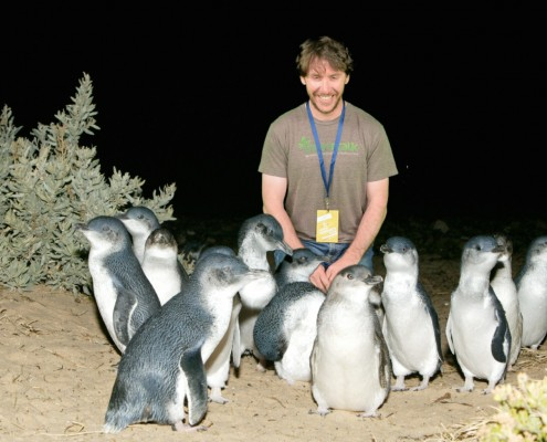 Ok, so this might be a green screen and not really me that close to the penguins.
